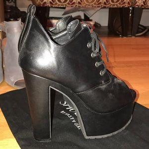 Edgy Nasty Gal Platform Heels